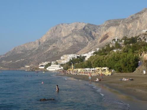 Kalymnos, Grande Grotta in the background